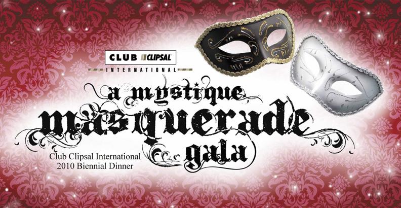 Mystique masquerade Invitation